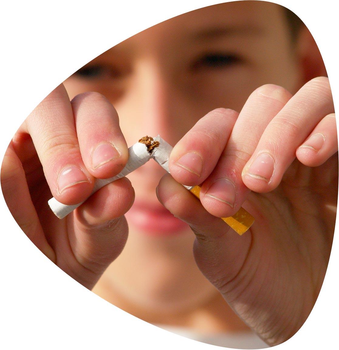 service arrêter le tabac grâce à l'hypnothérapie